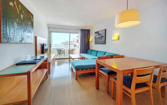 Standardapartment mit meerblick Aparthotel Fontanellas Playa Mallorca